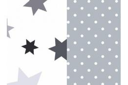 Tulící polštář STARS XXL, 100% bavlna