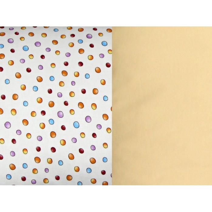 Tulící polštář LENTILS XXL, 100% bavlna