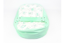 Náhradní potah na pelíšek pro miminko MÉĎA ZELENÝ 100% bavlna