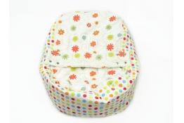 Náhradní potah na pelíšek pro miminko LOUKA ORANŽOVÁ