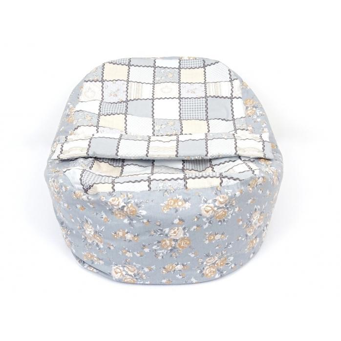 Pelíšek pro miminka, kojenecký relaxační polštář Patchwork 4