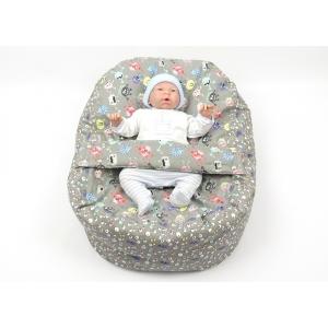 Pelíšek pro miminka, kojenecký relaxační polštář STRAŠIDLA