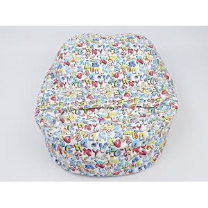 Pelíšek pro miminka, kojenecký relaxační polštář GRAFITTI 1
