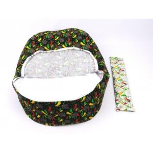 Pelíšek pro miminka, kojenecký relaxační polštář PAPRIČKY 3