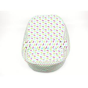 Pelíšek pro miminko, kojenecký relaxační polštář CHAMELEON BÍLÝ 1