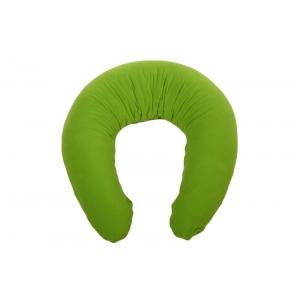 Relaxační a kojicí polštář Matýsek, zelený fleece