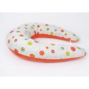 Kojicí polštář Maxi LOUKA oranžová, colormix 1