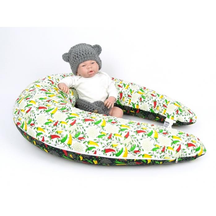 Kojicí polštář Maxi PAPRIČKY 100% bavlna