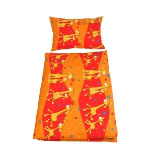 Povlečení do postýlky Žirafa Oranžová